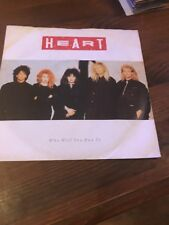 "7"" Single Vinyl Heart Who Will You Run To"