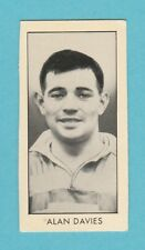 RUGBY  -  D. C. THOMSON - SCARCE  RUGBY  CARD  -  DAVIES OF OLDHAM  -  1958