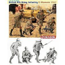 Dragon DRA6390 British 8th Army Infantry El Alamein 1942 1/35 scale plastic kit
