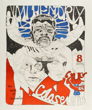 Jimi Hendrix Experience Davenport 1968 Concert Poster Signed/Numbered #249/1500