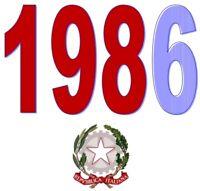 ITALIA Repubblica 1986 Singolo Annata Completa integri MNH ** Tutte le emissioni