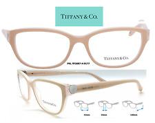 Tiffany & Co. TF2087H 8177 Eyeglass Beige / w/Silver Frames Size 52mm RX
