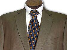 $2495 Ermenegildo Zegna Silk Trofeo Wool Blend  Sport Coat size 46 B082
