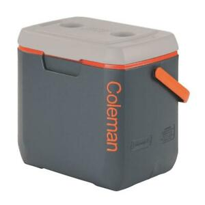Coleman Chest Cooler 28 Qt Leak Resistant Locking Lid Thermozone Outdoor Resin