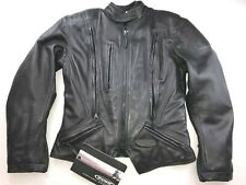 NWT HARLEY DAVIDSON FXRG ARMORED WOMEN'S LEATHER MOTORCYCLE JACKET S 98504-99VW