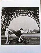 Robert Doisneau TOWING ON THE  CHAMP-de-MARS 1943 13x10 Offset Litho