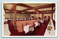 Seal Beach, CA - THE LODGE CAFE UPSCALE RESTAURANT INTERIOR ADVERTISING POSTCARD