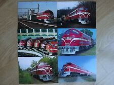 NOHAB MAV M61 Locomotives Postcards @ 6 - Swedish Hungarian Railway