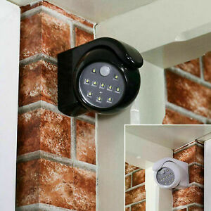 360° Battery Operated Indoor Outdoor Night Motion Sensor Security Led Light