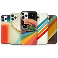 Retro stripes Phone case cover fits for iPhone 5 6 7 8 11 XR, X/XS, 11 Pro, max