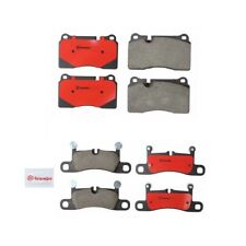 Front & Rear Ceramic Disc Brake Pads Kit Brembo For Volkswagen Touareg 2011-2015