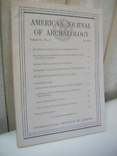 AMERICAN JOURNAL of ARCHAEOLOGY 1975 N°2