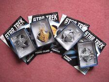 More details for star trek starships  4 ships only. with magazine