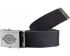Dickies Canvas Belt Fashionable Black Adjustable Work Mens BE500