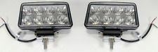 "Pair 6"" Off-Road LED Work Driving Light Bar Pods Spot Fog Lamp Truck Jeep 4WD"
