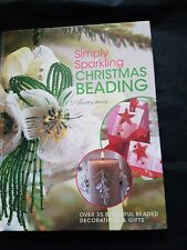Christmas Beading Hardback Craftt Book