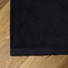 Spesso Pesante Nero Velluto Di Cotone Tessuto - Per Tende e Arredi