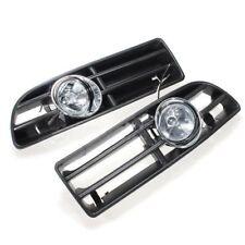 Front Bumper Grille Light Fog Light H3 Bulb for 1999-2004 VW Jetta/Bora Mk4 New