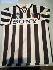 JUVENTUS 95/96 MATCHWORN DESCHAMPS KAPPA TRIKOT SHIRT MAGLIA FOOTBALL CALCIO