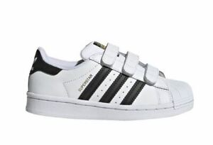Adidas Superstar CF C Kinder Schuhe Sneaker Turnschuhe EF4838 (Weiß)