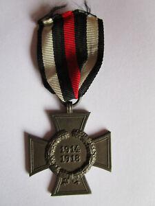 Ehrenkreuz für Kriegsteilnehmer 1914/18 mit Hersteller D&Co am Band