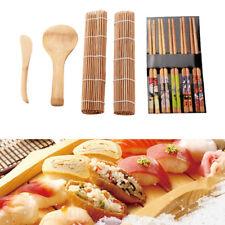 13Pcs/set Bamboo Sushi Making Kit Chopsticks Sushi Curtain Family Sushi Gadget H