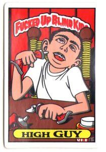 Blind - Fcked Up Blind Kids Skateboard Sticker - High Guy skate board sk8 new