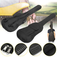 Double Strap Padded Electric Bass Guitar Gig Bags Soft Case Backpack For Gift !