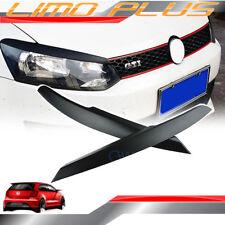 Matt Black Head Light Eyelid Trims for VW POLO Mk5 6C 6R 2009 - 2016 vw63