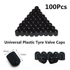 100x Car Motorcycle Bicycle Tyre Dust Prevention Protection Air Valve Caps Cover