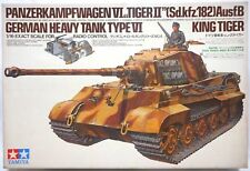 Vintage 1981 Tamiya 1/16 RC 56004 KING TIGER NIB