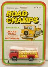 "Yatming Road Champs COE Coca-Cola Delivery Truck Red COKE MOC 2.5"" Long"