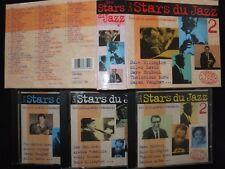 COFFRET 3 CD LES STARS DU JAZZ / LES PLUS GRANDS STANDARDS /