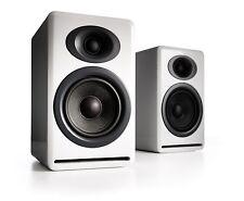 Audioengine P4 White Bookshelf Speaker Pair - Free Shipping - Full Warranty NEW