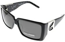 Gianfranco Ferre Sunglasses Women Black Palladium Rectangular GF957 01