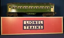 Lionel 2440 Lionel  TWO TONE OF GREEN PULLMAN Car.