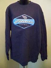 New-Tennessee Titans Homme L Bleu Foncé Brodé Sweat