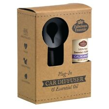 Car Scented Electric Diffuser with CALM ANGER Pure Essential Oil Blend 10ml