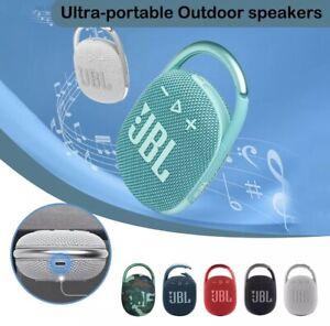 Original JBL Clip 4 Portable Bluetooth Speaker Outdoor and Waterproof