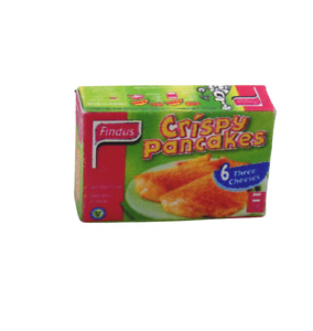 1:12th scale Dolls House Miniature crispy Pancakes box-Food-Accessories-kitchen