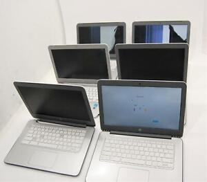 """Lot of 6 HP Chromebook 14"""" 14-x010NR 16GB SSD 2GB RAM NVIDIA Tegra K1 READ"""