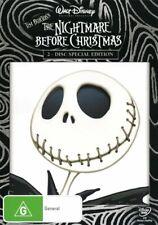 The Nightmare Before Christmas /  2 Disc   DVD  Region 4   New!  Disney