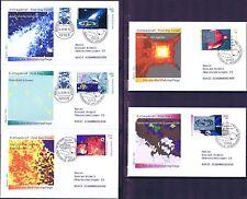 BRD 1999: Der Kosmos! Wohlfahrt-FDC Nr 2077-2081! Berliner Stempel! Gelaufen! 1A