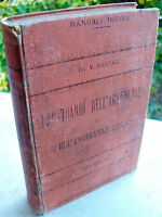 1903 MANUALE HOEPLI 'PRONTUARIO DELL'AGRICOLTORE E DELL'INGEGNERE RURALE'