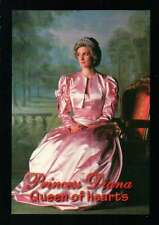 Princess Diana, Queen of Hearts, Pink Dress,Tiara - Trading Card, Not a Postcard