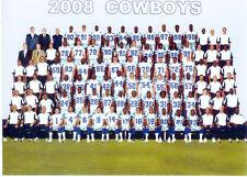 2008 DALLAS COWBOYS  8X10 TEAM PHOTO ROMO OWENS ADAMS FOOTBALL TEXAS NFL USA HOF