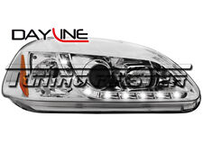 Honda Civic 96->98 Fari Anteriori Dayline Cromati