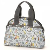 LeSportsac Daisy Classic Pooh Shoulder Tote Hand Bag Purse Limited Japan Z8042