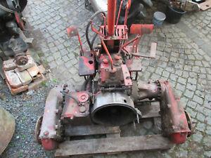 Traktor RS09 GT124 T157 Getriebe rs 09 Kotflügel Hydraulik pumpe Heckhydraulik