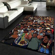 Rug for living room - Rappers Hip Hop Floor Rugs Floor Decor